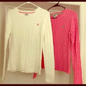2 Lilly Pulitzer Sweaters. Size Large